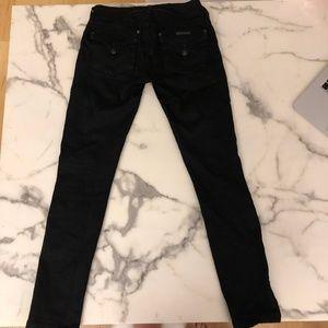 Hudson Black Collin Skinny Denim Jeans